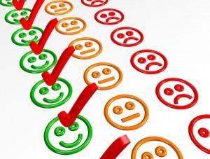 client heureux